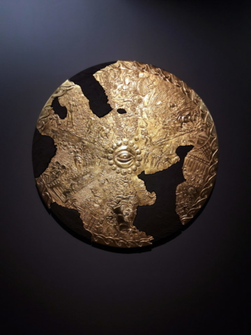 damien hirst the shield of apollo