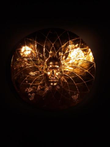 damien hirst sun's disk